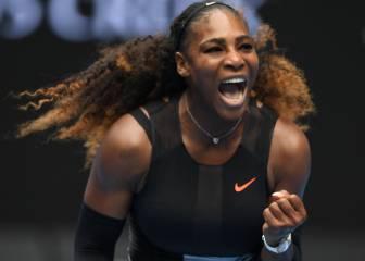 Serena Williams bate sin problemas a Belinda Bencic