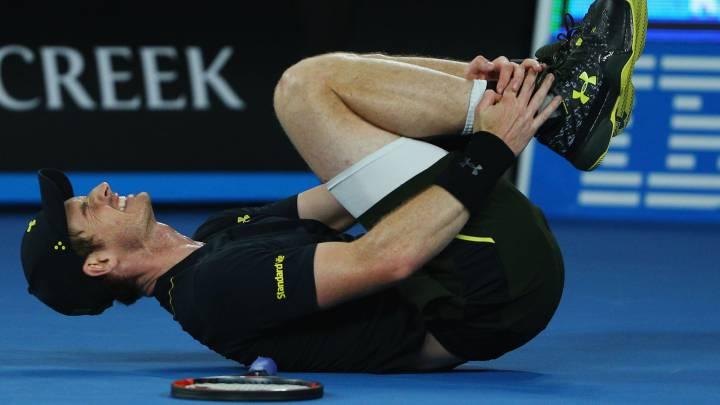 Andy Murray barre al ruso Rublev y se lleva un buen susto