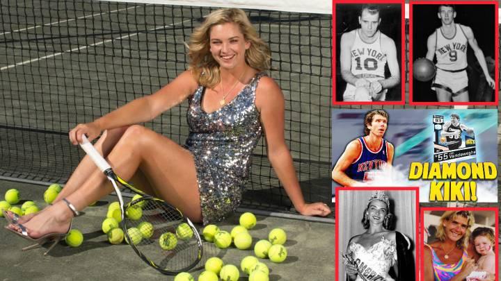 Vandeweghe, rival de Garbiñe: pedigrí de NBA y miss América