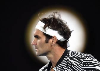 Por Federer no pasan los años: palizón a Tomas Berdych