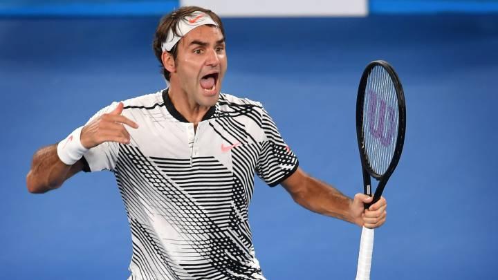 ¡Qué grande Federer! Remonta a Nishikori y busca su 18º título