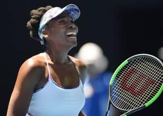 Venus Williams se mete en su tercera semifinal australiana