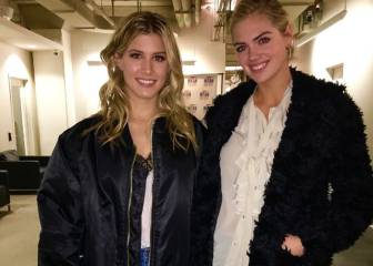 Genie Bouchard está 'on fire': conoció a la modelo Kate Upton