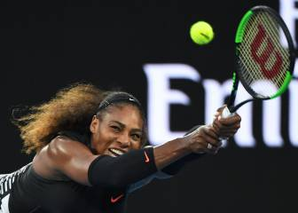 Serena sigue líder y Garbiñe es séptima antes de Indian Wells