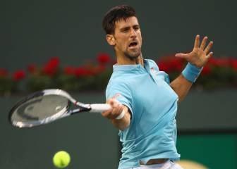 Djokovic y Federer debutan con buen pie en Indian Wells