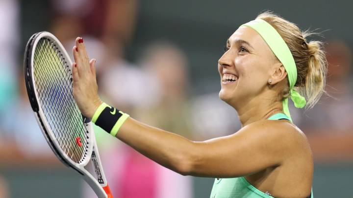 Elena Vesnina jugará la gran final en Indian Wells.