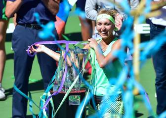 Vesnina conquista Indian Wells en una final maratoniana