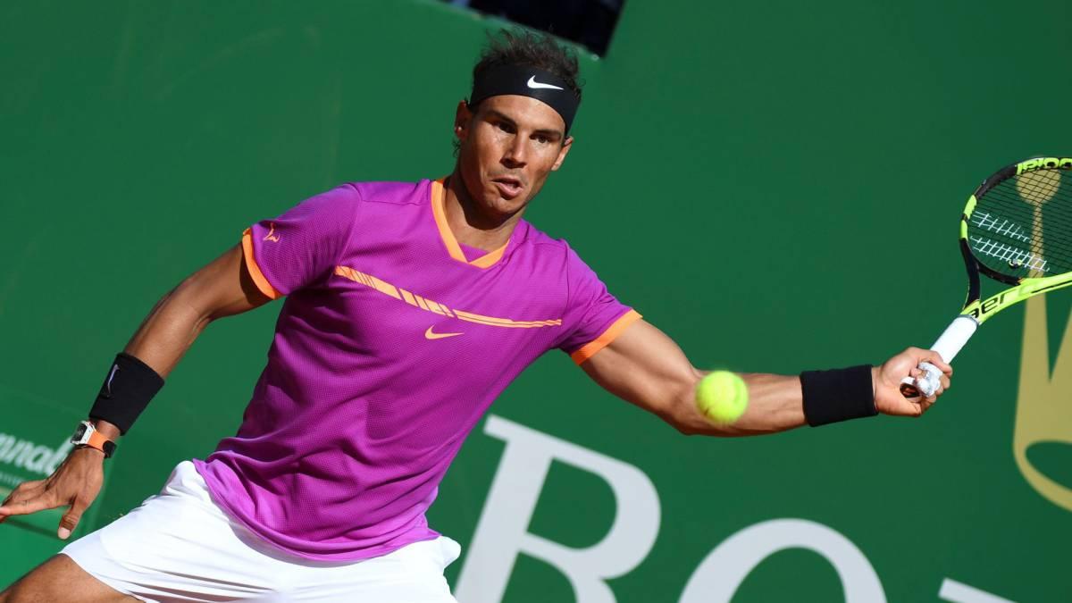 Nadal derrotó a Goffin y buscará el título en Montecarlo