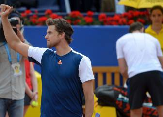 Thiem funde a Murray y llega a su primera final en Barcelona