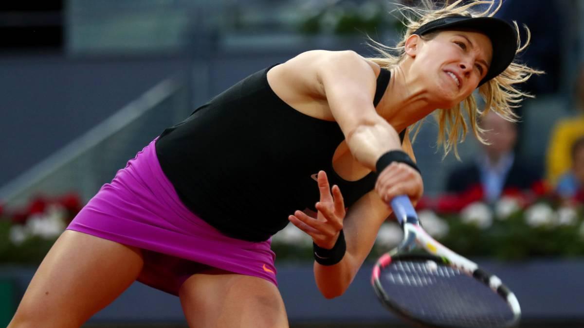 Sharapova se mide a Bouchard, que la llamó