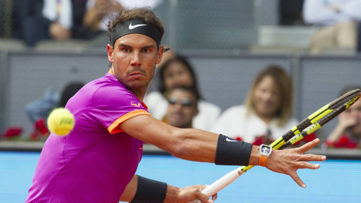 Imparable Nadal; gana en Madrid