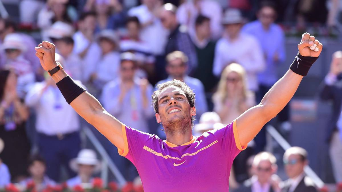 Nadal for the fifth time won the masters in Madrid