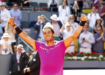 Final Mutua Madrid Open: Nadal, pentacampeón en Madrid