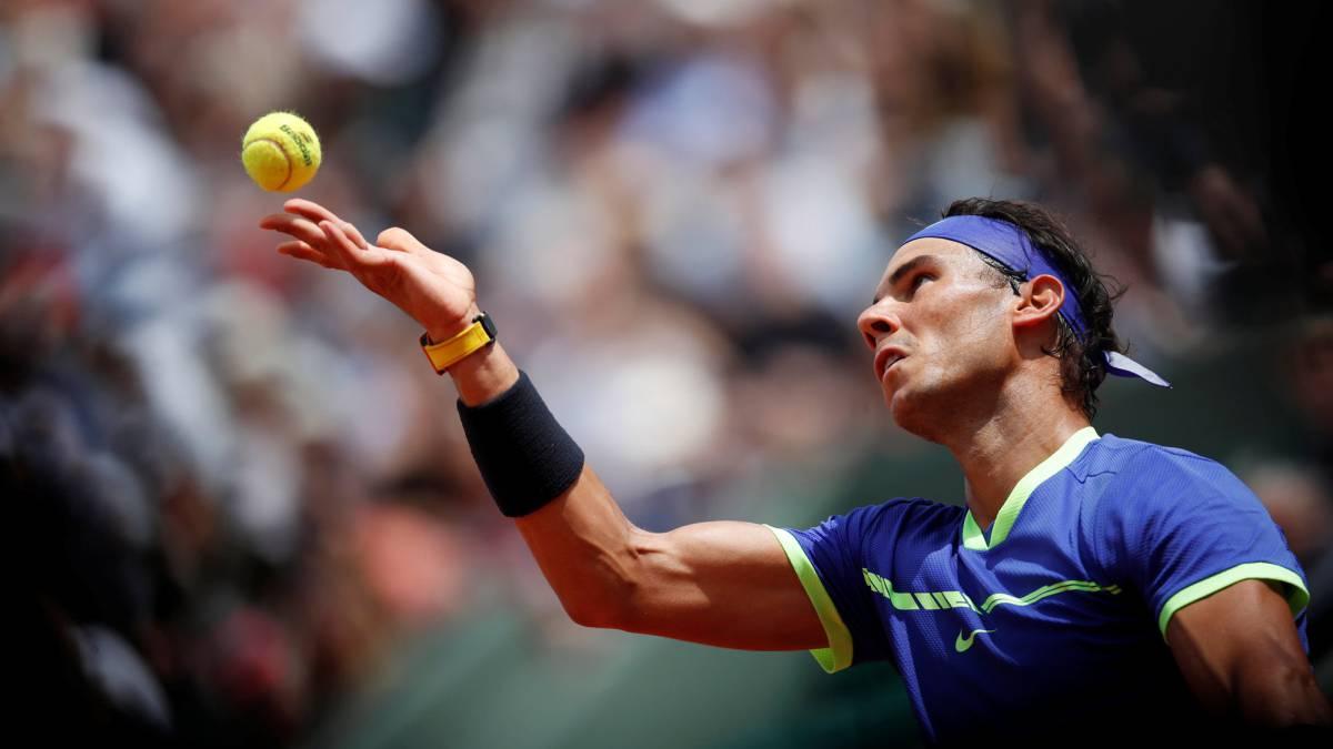 Nadal arrolla a Bautista y avanza a cuartos en Roland Garros