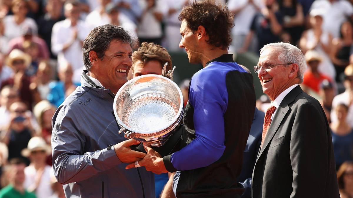 El insólito episodio de Nadal tras ganar Roland Garros