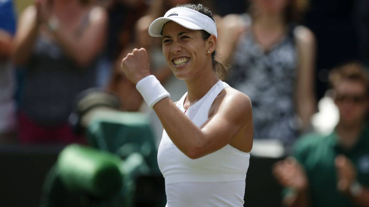 Williams, Muguruza, Kuznetsova, en cuartos de final de Wimbledon