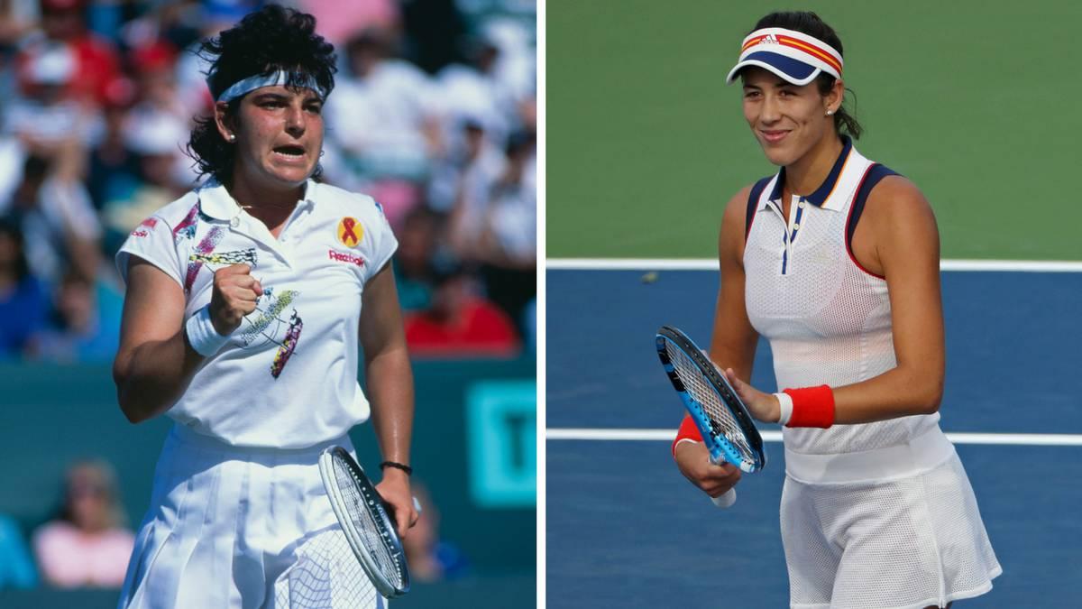 Tenis Muguruza segunda espa±ola en la cima del tenis tras