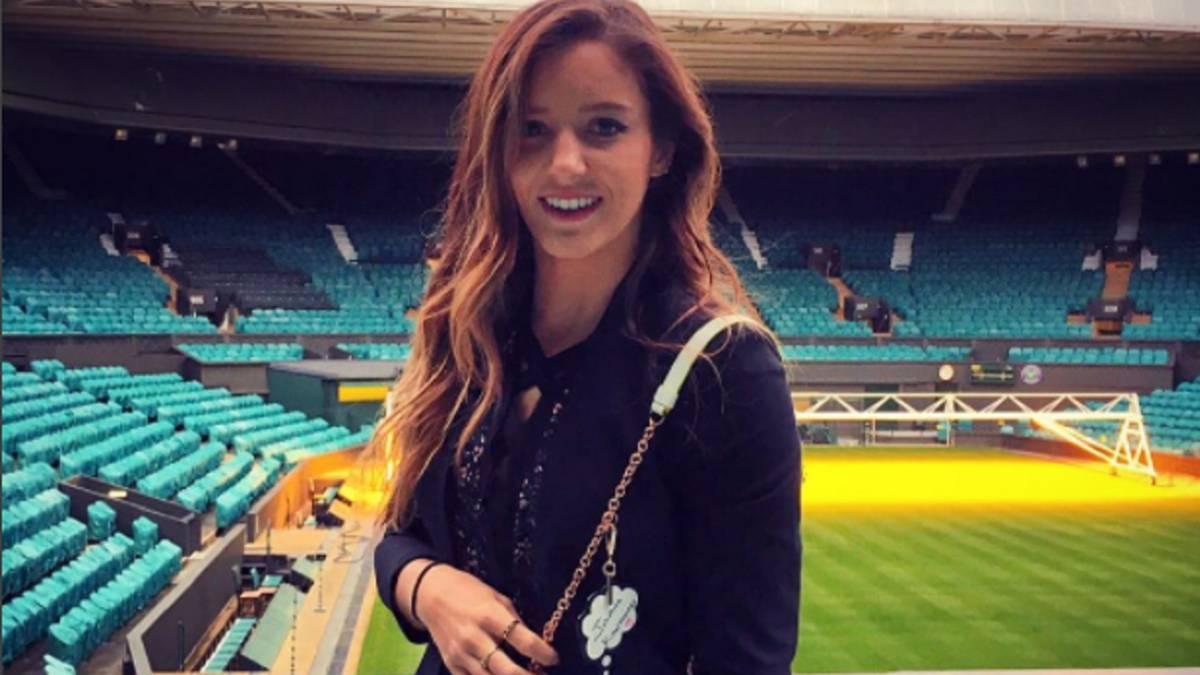 La tenista que escapó al atentado en Las Vegas — Robson