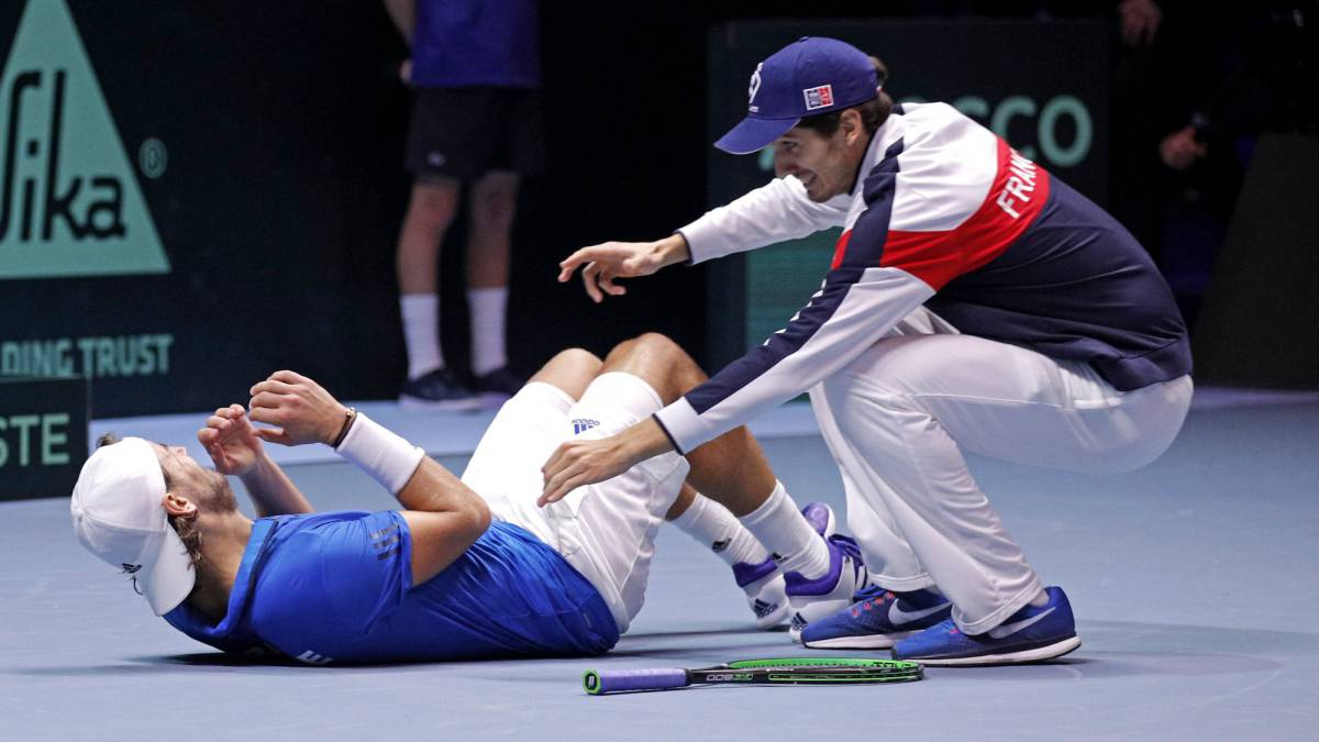 France Beat Belgium To Win Davis Cup