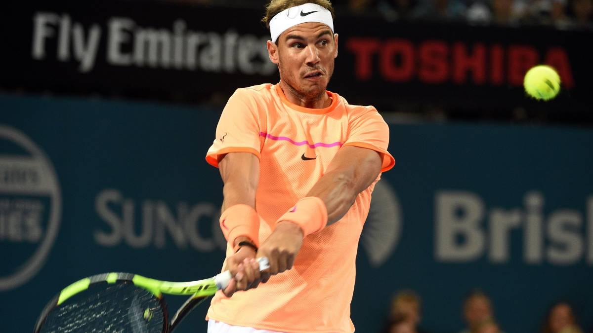 Rafael Nadal anuncia su baja del torneo de Brisbane