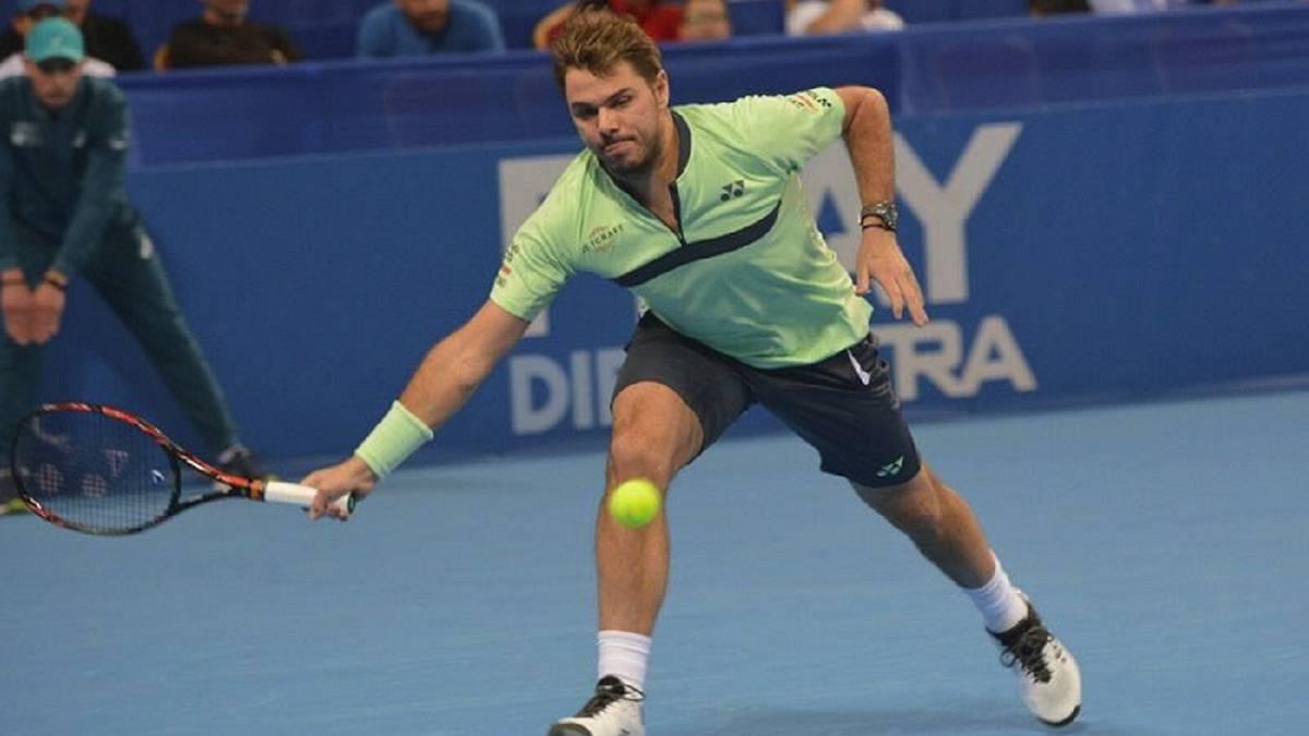 Wawrinka accede a semifinales del torneo de Sofía