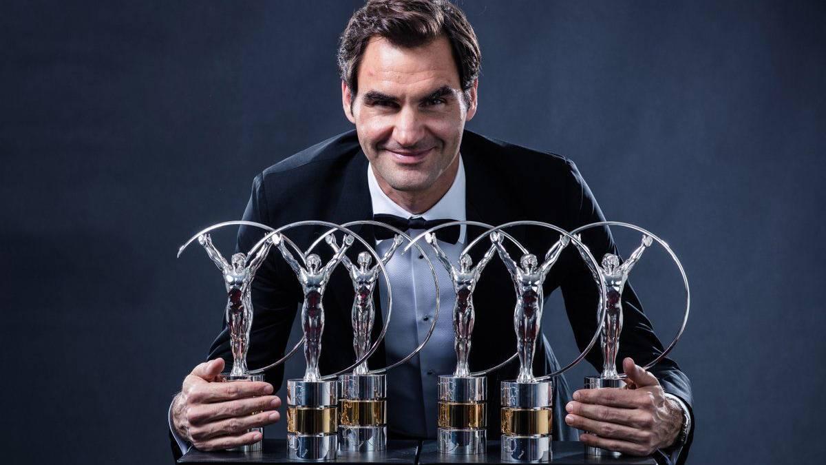 Roger Federer gana el premio Laureus 2018
