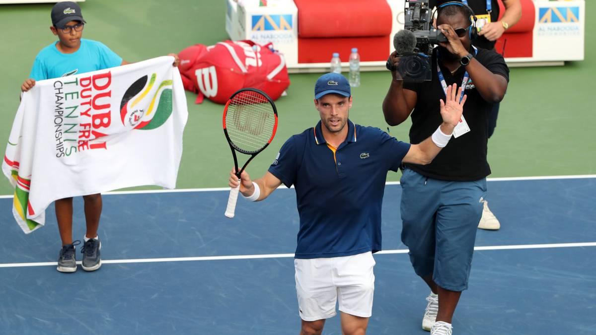 fa6df106ef0 Tenis  Bautista supera a Coric y pasa a las semifinales de Dubai - AS.com
