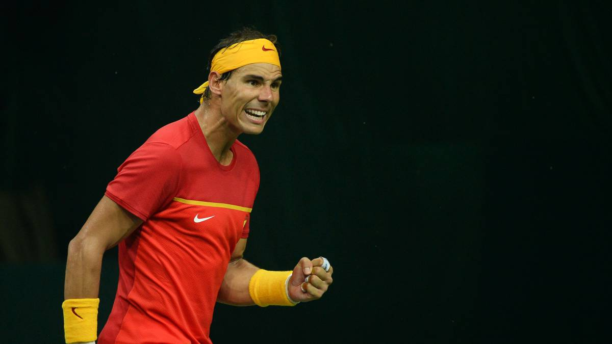 Rafael Nadal could make return from leg injury at Davis Cup