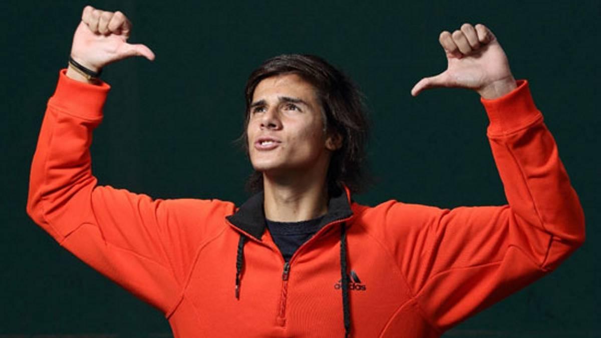 El tenista argentino Nicolás Kicker fue declarado