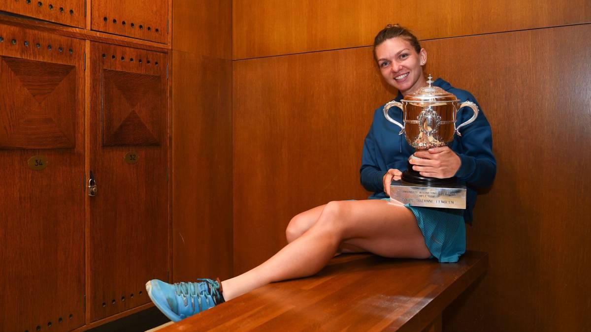 Simona Halep reina en Roland Garros