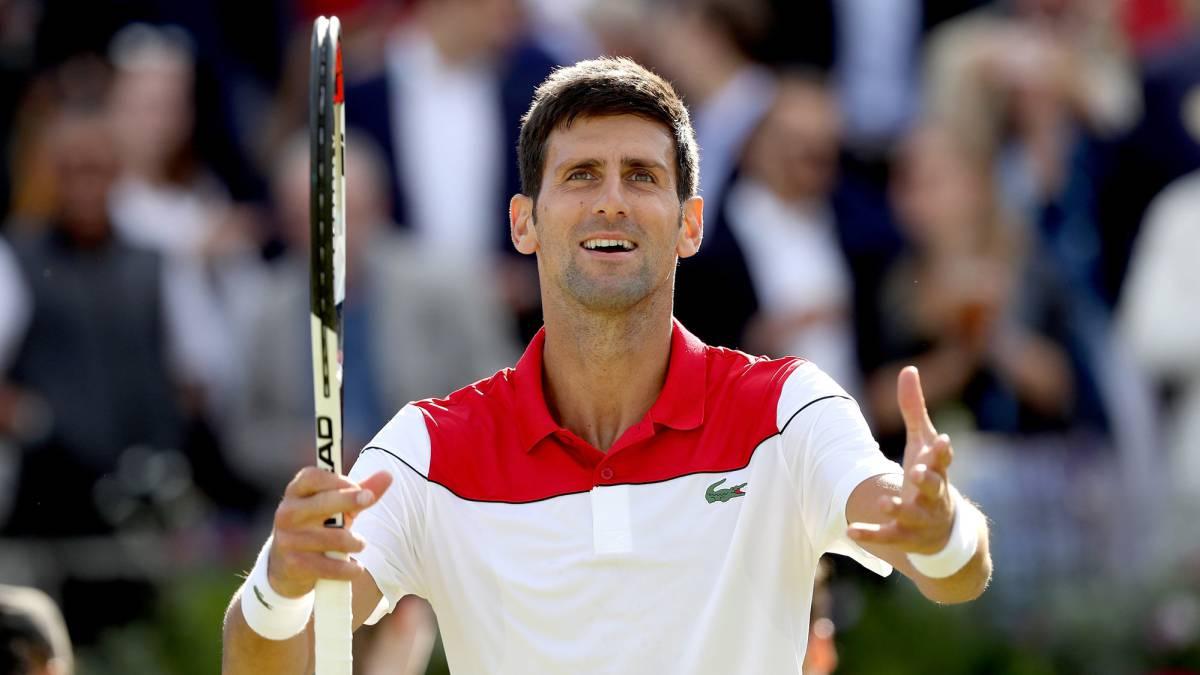 Novak Djokovic vencio a Grigor Dimitrov en Queens