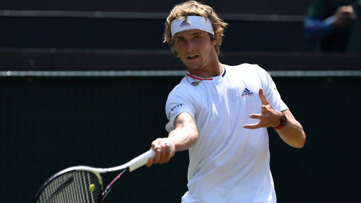 Suspenden duelo entre Zverev y Fritz en Wimbledon