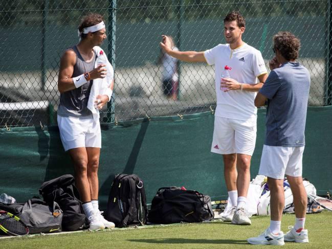 Una semifinal histórica y otra que debe terminar — Wimbledon