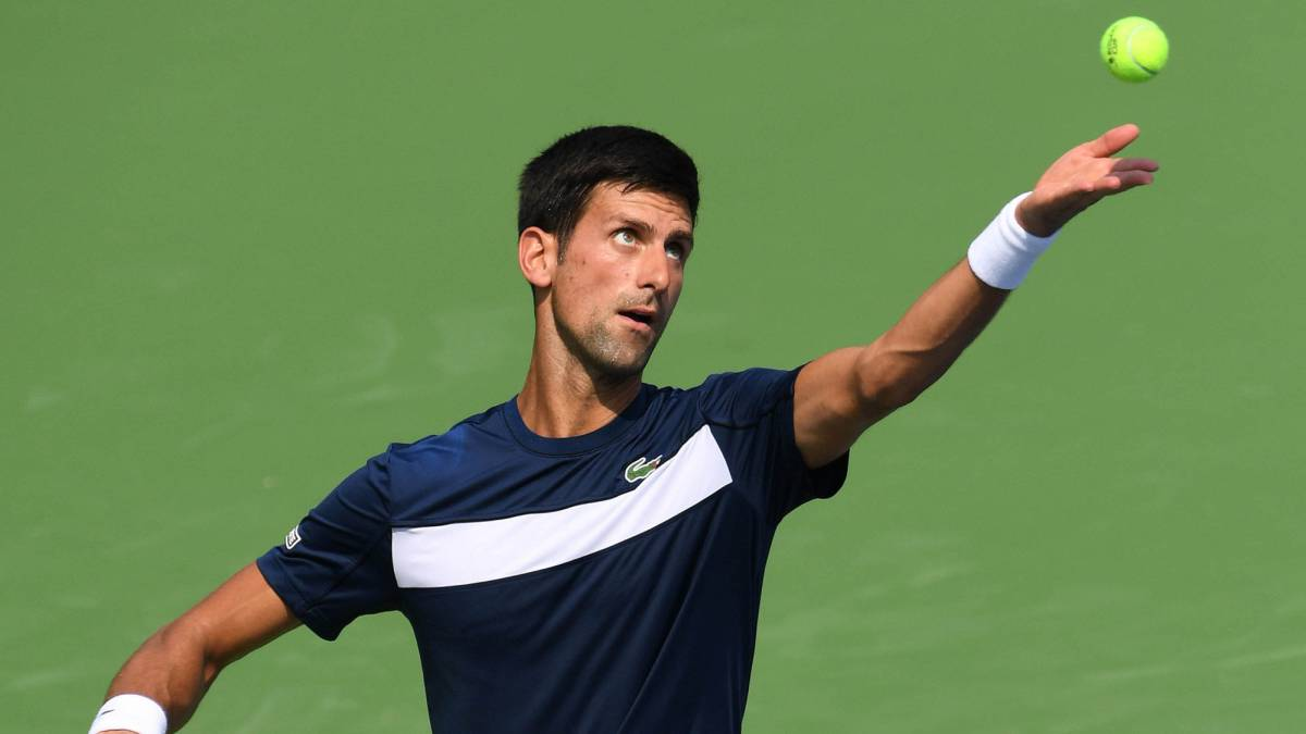 Sólido debut de Novak Djokovic