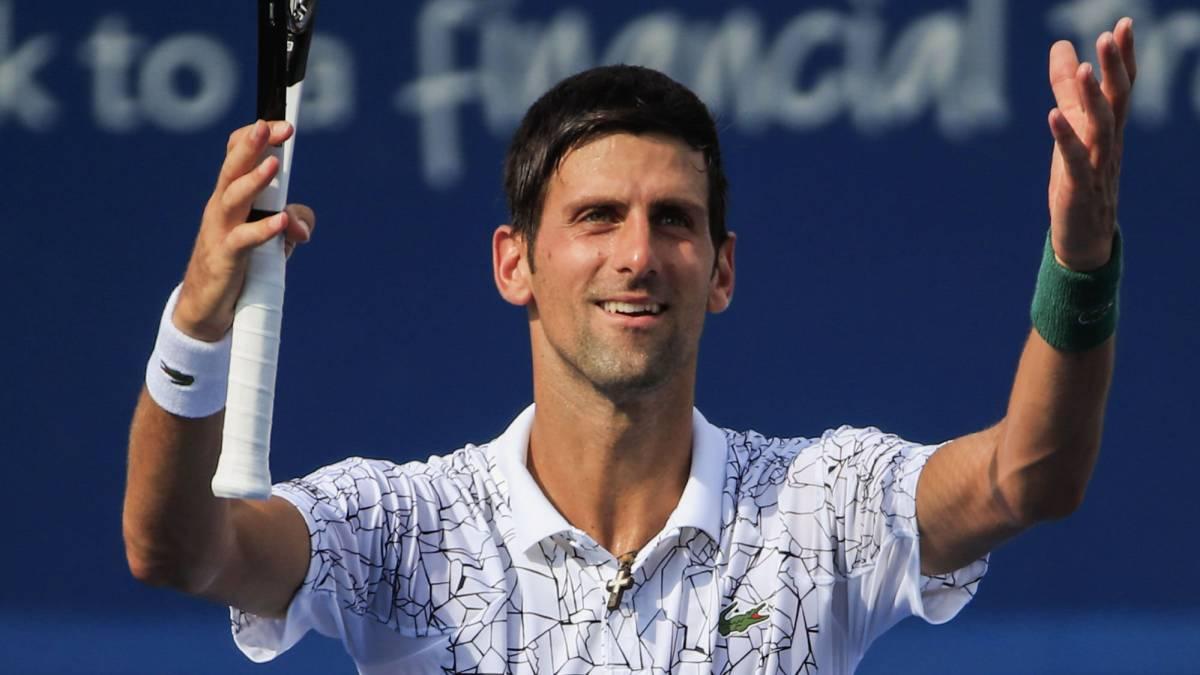 3b58e988730 Resumen y resultado del Djokovic - Federer  Djokovic hizo historia en  Cincinnati - AS.com