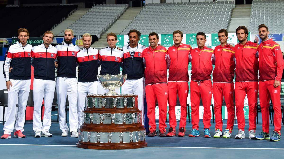 Copa Davis Carreno Y Bautista Contra Francia En Una Pista Anti Nadal As Com