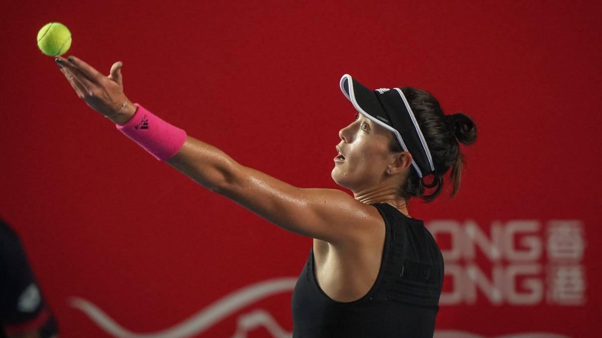 Garbiñe Muguruza ya es semifinalista