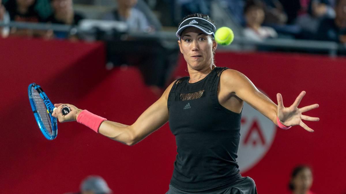 Garbiñe Muguruza clasifica a semifinales en Hong Kong