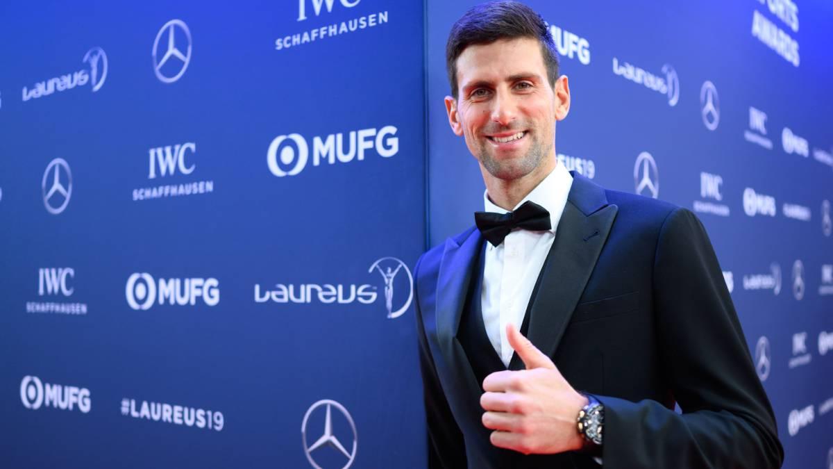 Premian a Novak Djokovic como el mejor deportista del 2018