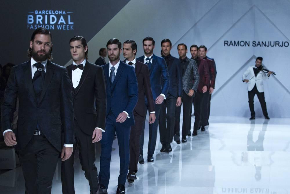Ramón Sanjurjo, la única firma que presenta moda de novios