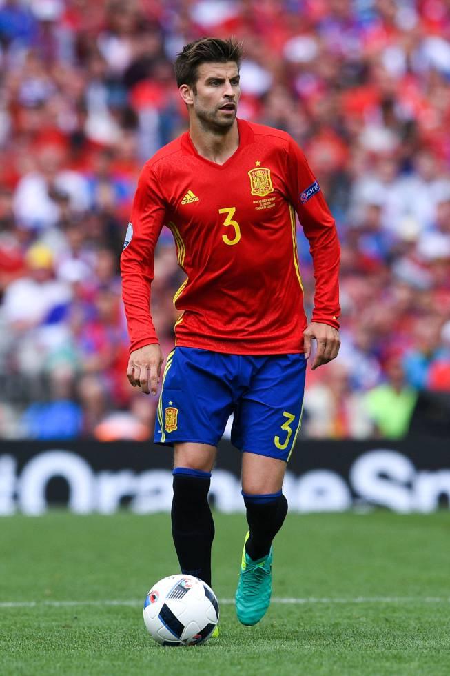 Gerard Piqué ha sido seleccionado como el más deseado de la Eurocopa.