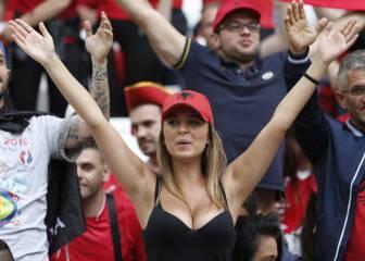 Las aficionadas más guapas en las gradas de la Eurocopa