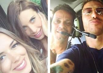 Sergio Ramos y Pilar Rubio, de vacaciones con Marc Anthony