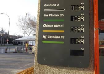 Gasolineras más baratas: lista por comunidad autónoma