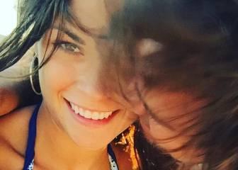 Linda Morselli acompaña a Fernando Alonso en Singapur