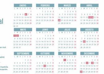 Calendario laboral 2017 en la Comunidad de Madrid: todos los festivos