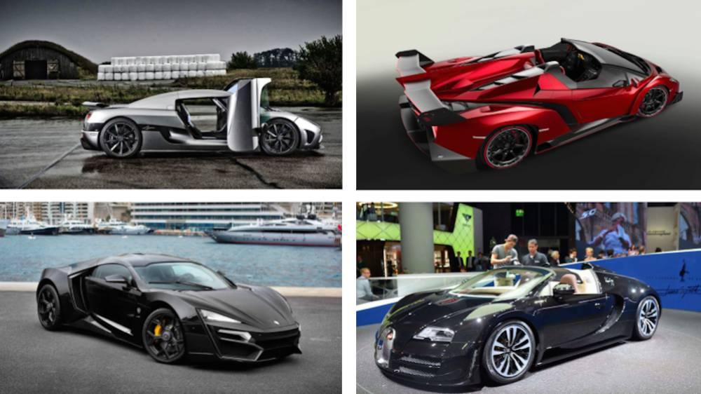 Marcas de autos mas famosos del mundo