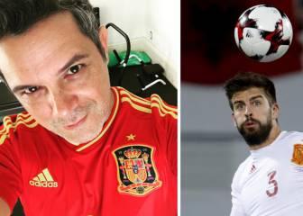 Alejandro Sanz apoya a Piqué tras anunciar su marcha de la selección
