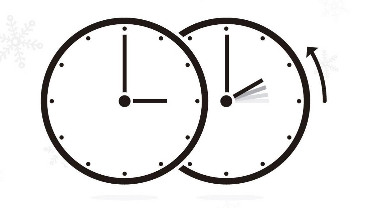 Cambio De Hora 2016 Este Domingo Se Retrasa El Reloj Ascom