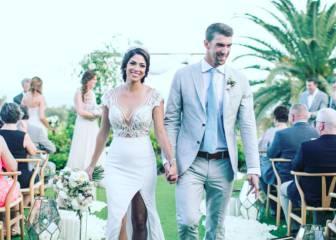 Michael Phelps comparte en Instagram las fotos de su boda